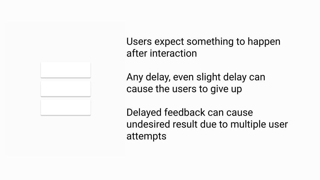 Feedback must be intelligible RULE 1 Users expe...