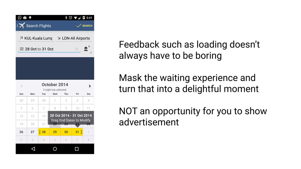 Feedback must be intelligible RULE 1 Feedback F...