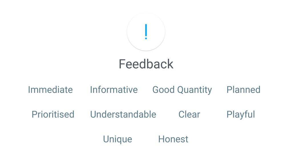 Feedback Immediate Informative Good Quantity Pl...