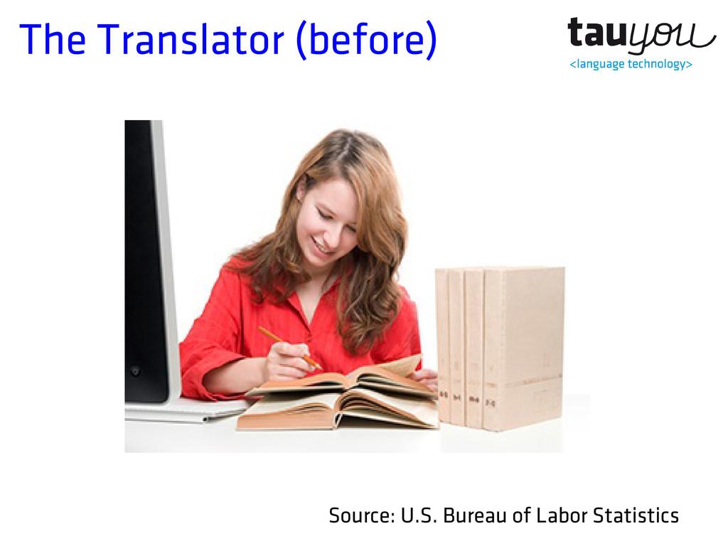 The Translator (before) Source: U.S. Bureau of ...