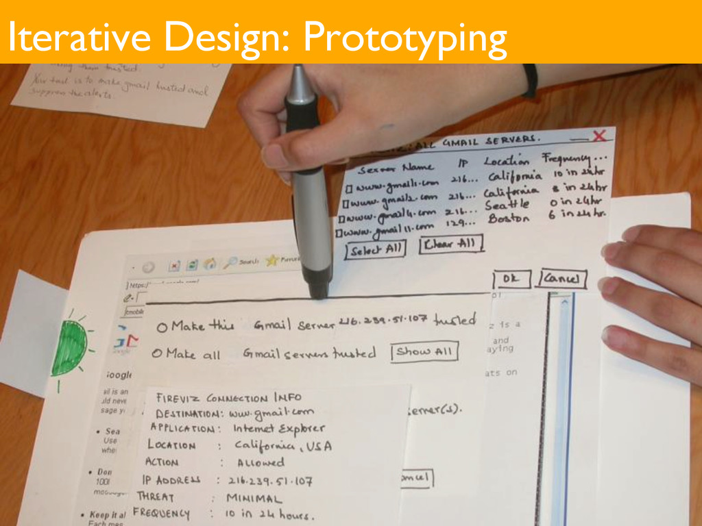 Iterative Design: Prototyping