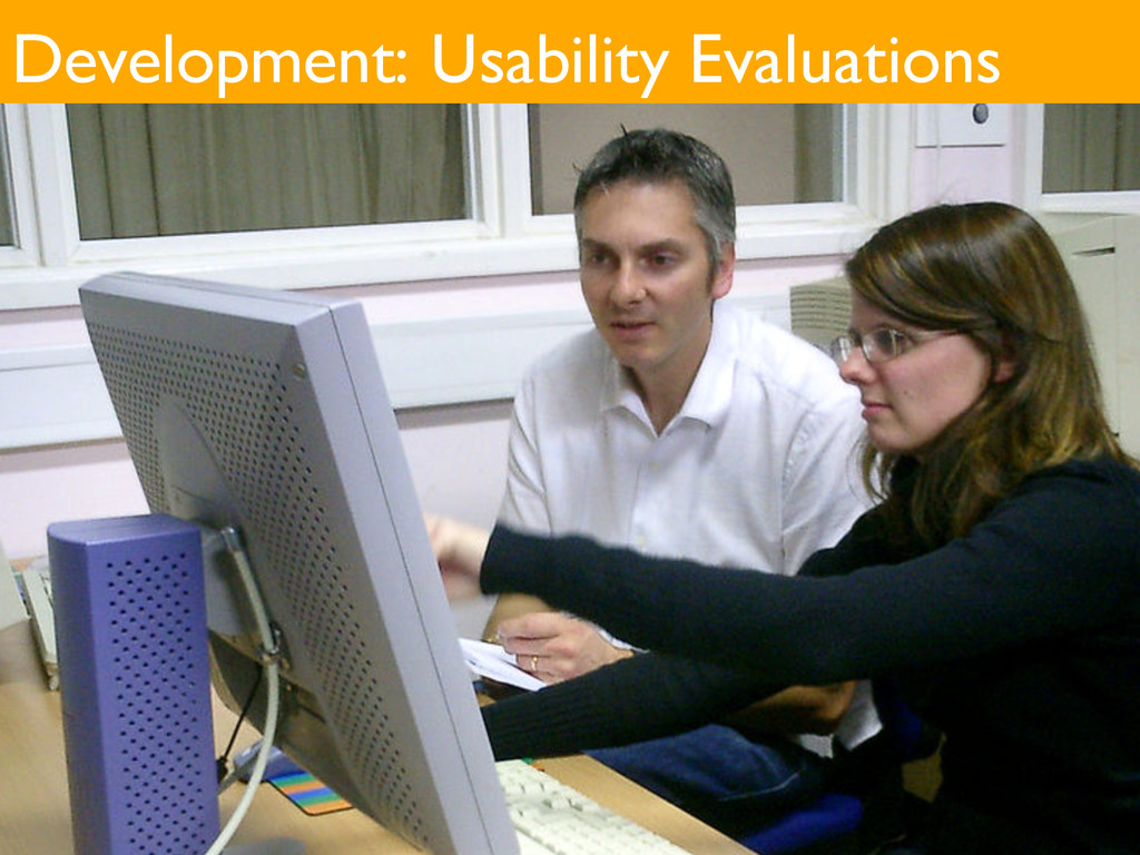Development: Usability Evaluations