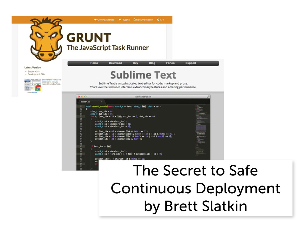The Secret to Safe Continuous Deployment by Bre...