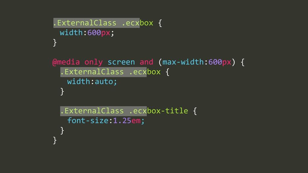.ExternalClass%.ecxbox%{% % width:600px;% }% ! ...