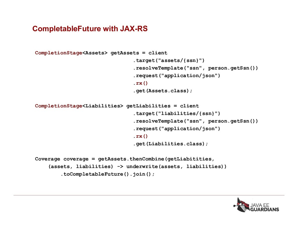 CompletableFuture with JAX-RS CompletionStage<A...