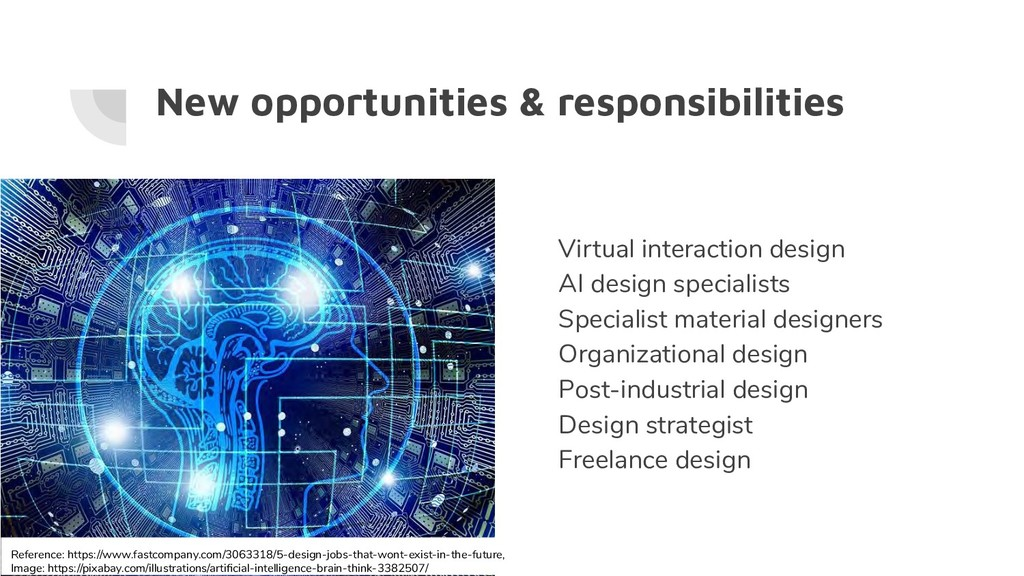 New opportunities & responsibilities Virtual in...