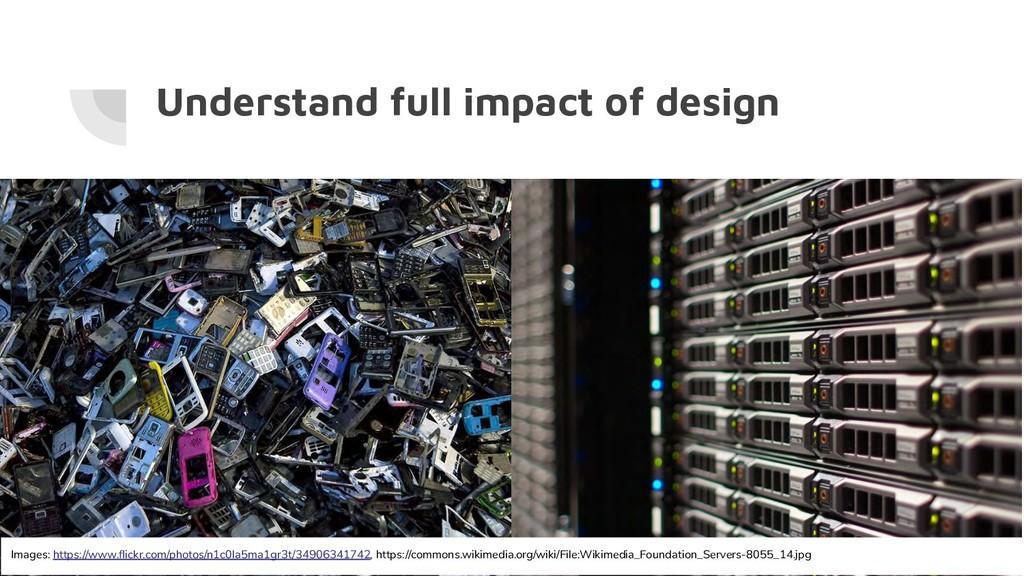 Understand full impact of design Images: https:...