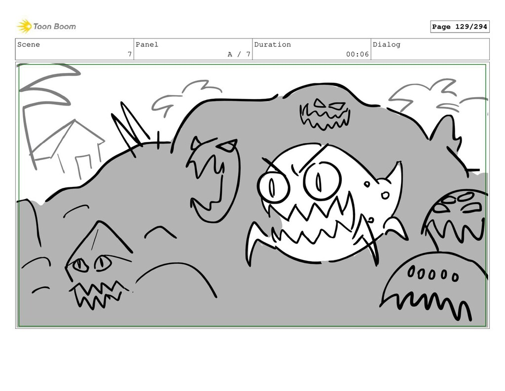 Scene 7 Panel A / 7 Duration 00:06 Dialog Page ...