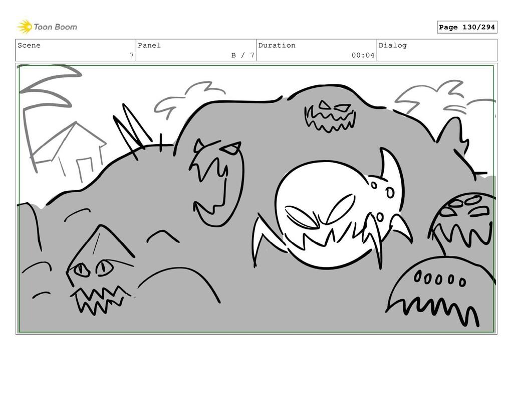 Scene 7 Panel B / 7 Duration 00:04 Dialog Page ...