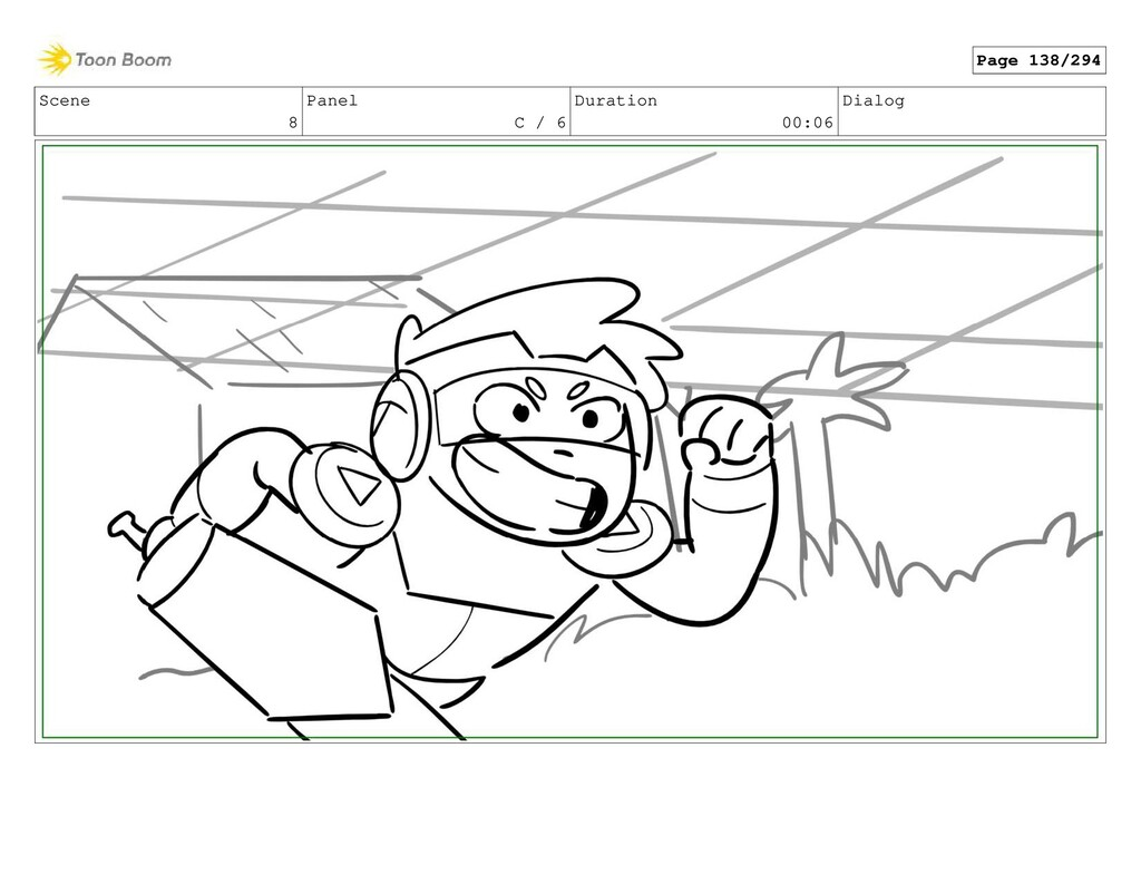 Scene 8 Panel C / 6 Duration 00:06 Dialog Page ...
