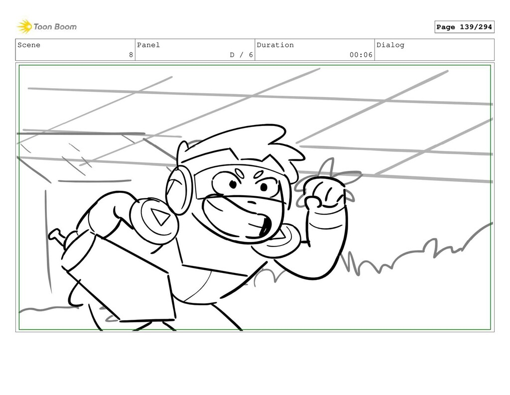 Scene 8 Panel D / 6 Duration 00:06 Dialog Page ...