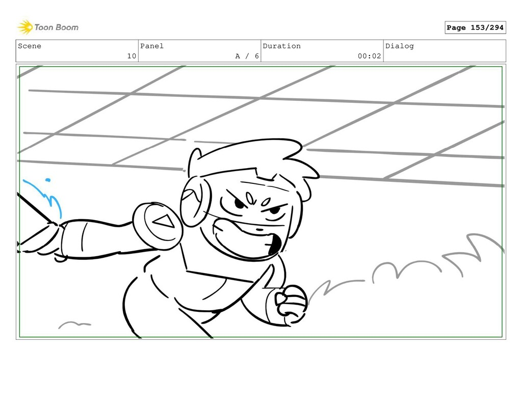 Scene 10 Panel A / 6 Duration 00:02 Dialog Page...
