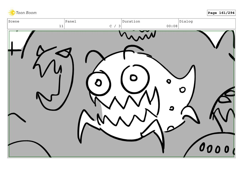 Scene 11 Panel C / 3 Duration 00:08 Dialog Page...