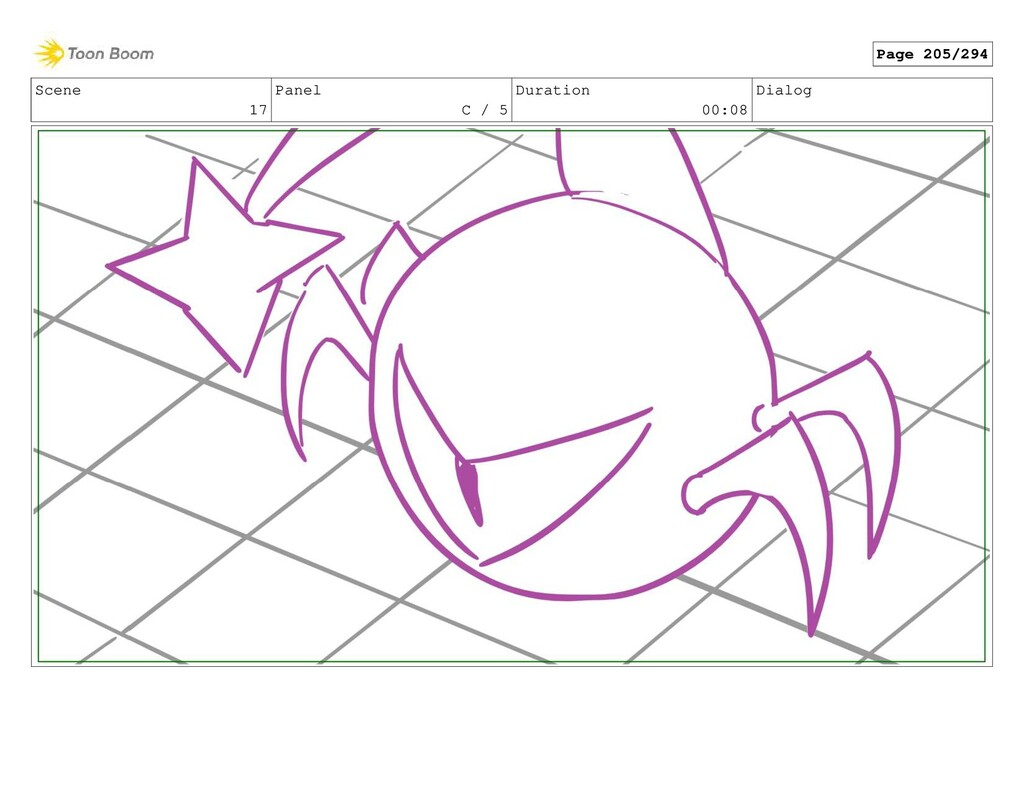 Scene 17 Panel C / 5 Duration 00:08 Dialog Page...