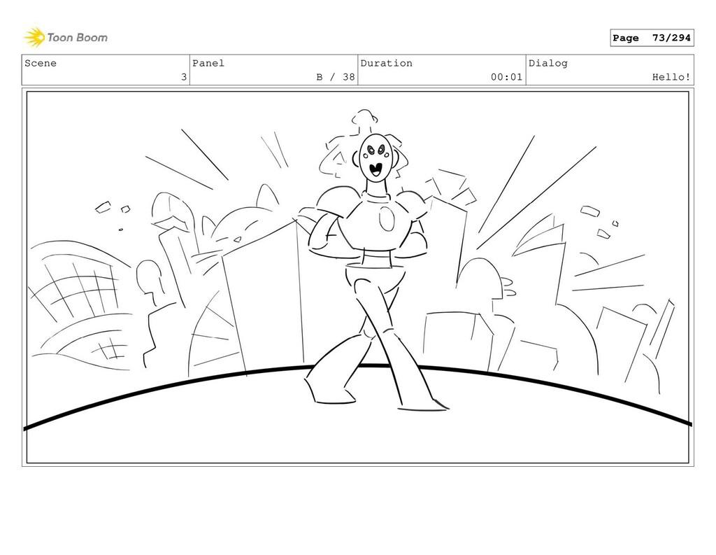 Scene 3 Panel B / 38 Duration 00:01 Dialog Hell...