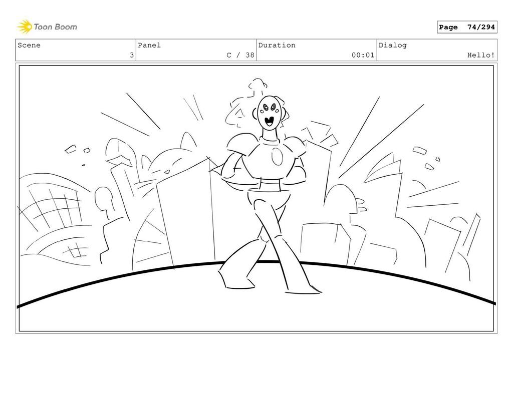 Scene 3 Panel C / 38 Duration 00:01 Dialog Hell...