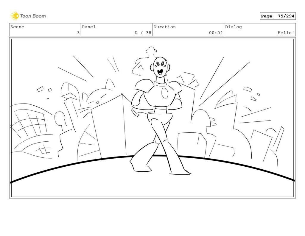 Scene 3 Panel D / 38 Duration 00:04 Dialog Hell...