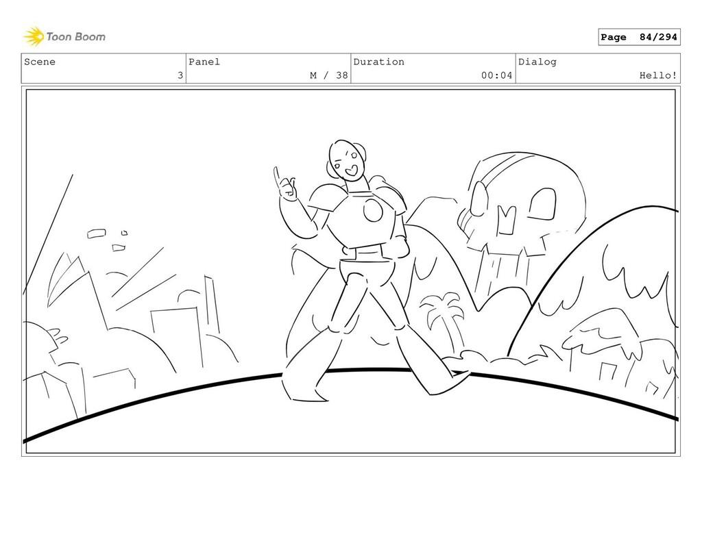 Scene 3 Panel M / 38 Duration 00:04 Dialog Hell...