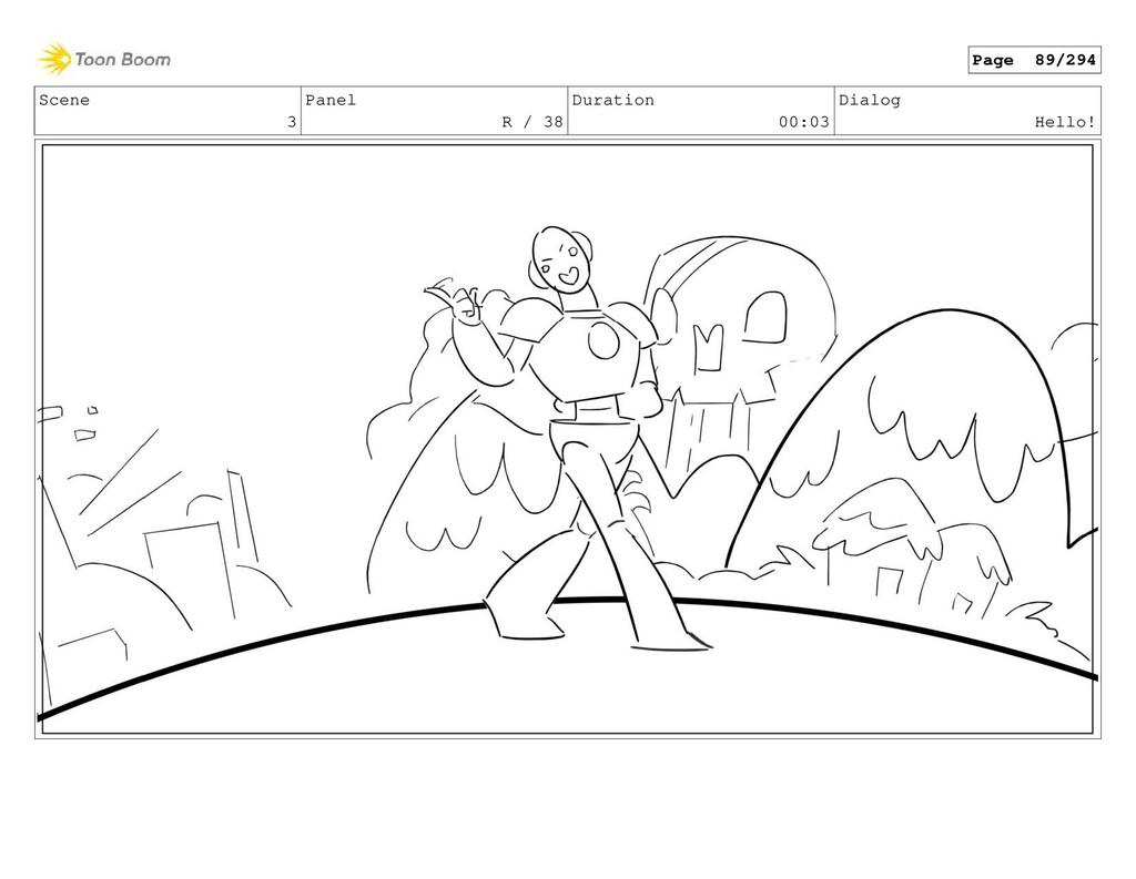 Scene 3 Panel R / 38 Duration 00:03 Dialog Hell...