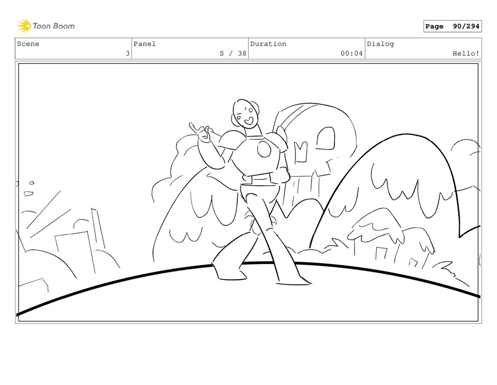 Scene 3 Panel S / 38 Duration 00:04 Dialog Hell...