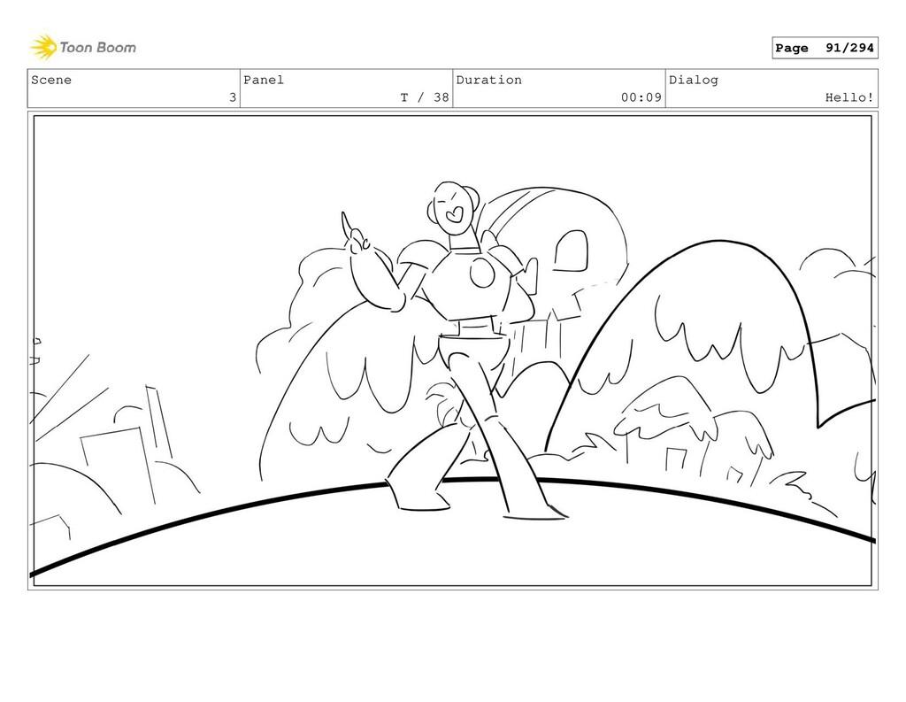 Scene 3 Panel T / 38 Duration 00:09 Dialog Hell...