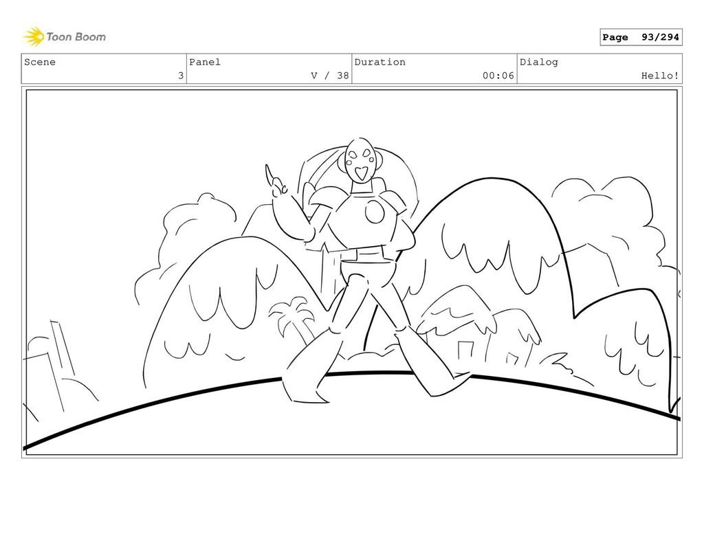Scene 3 Panel V / 38 Duration 00:06 Dialog Hell...