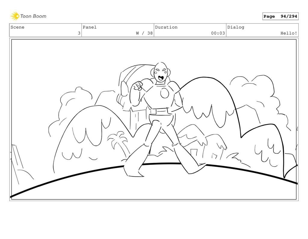 Scene 3 Panel W / 38 Duration 00:03 Dialog Hell...