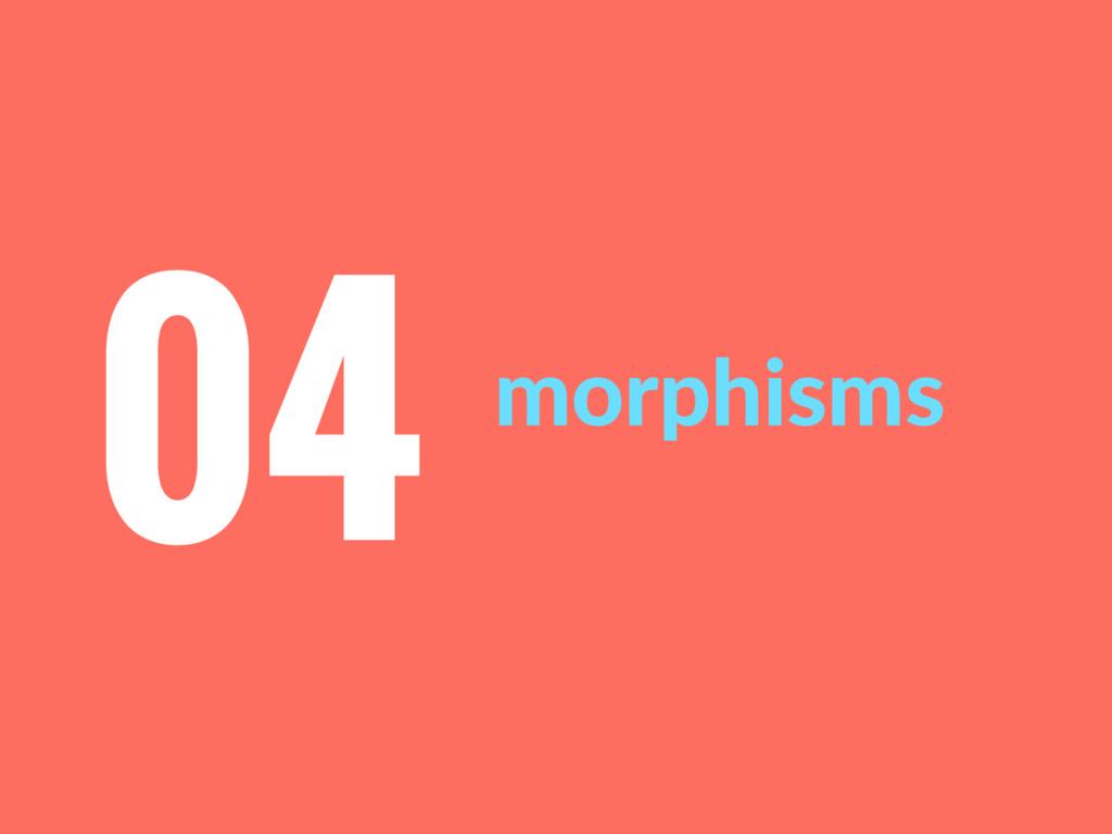 morphisms 04