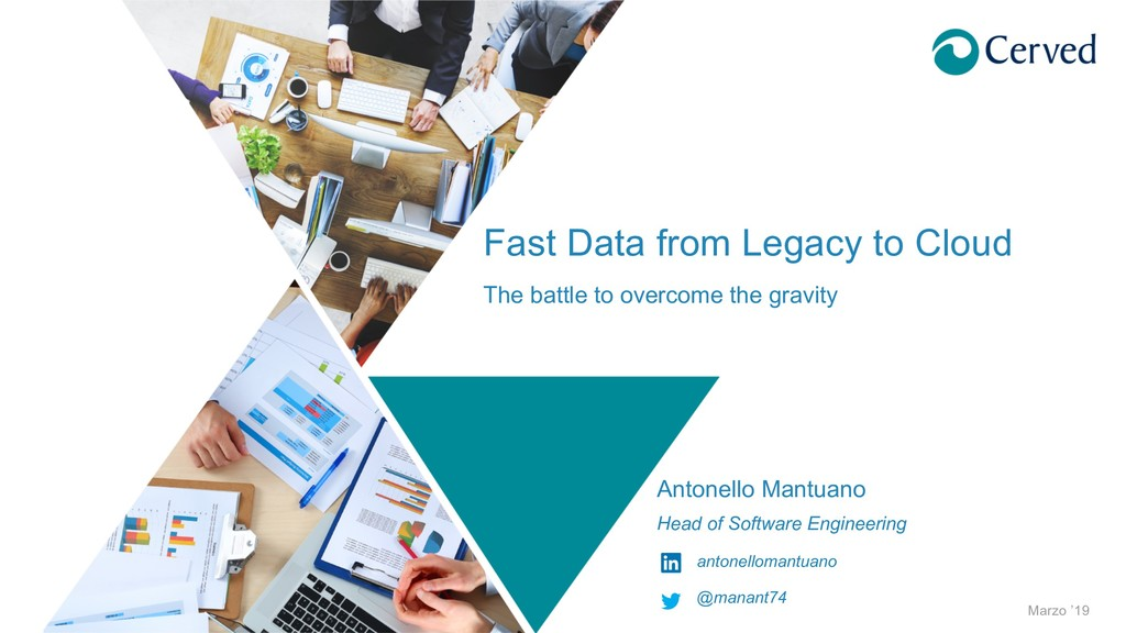 Fast Data from Legacy to Cloud The battle to ov...