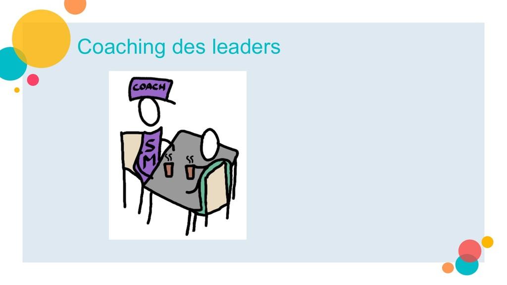 Coaching des leaders