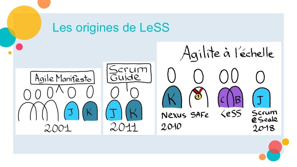 Les origines de LeSS