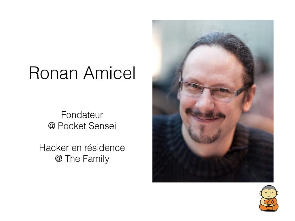 Ronan Amicel Fondateur @ Pocket Sensei Hacker e...