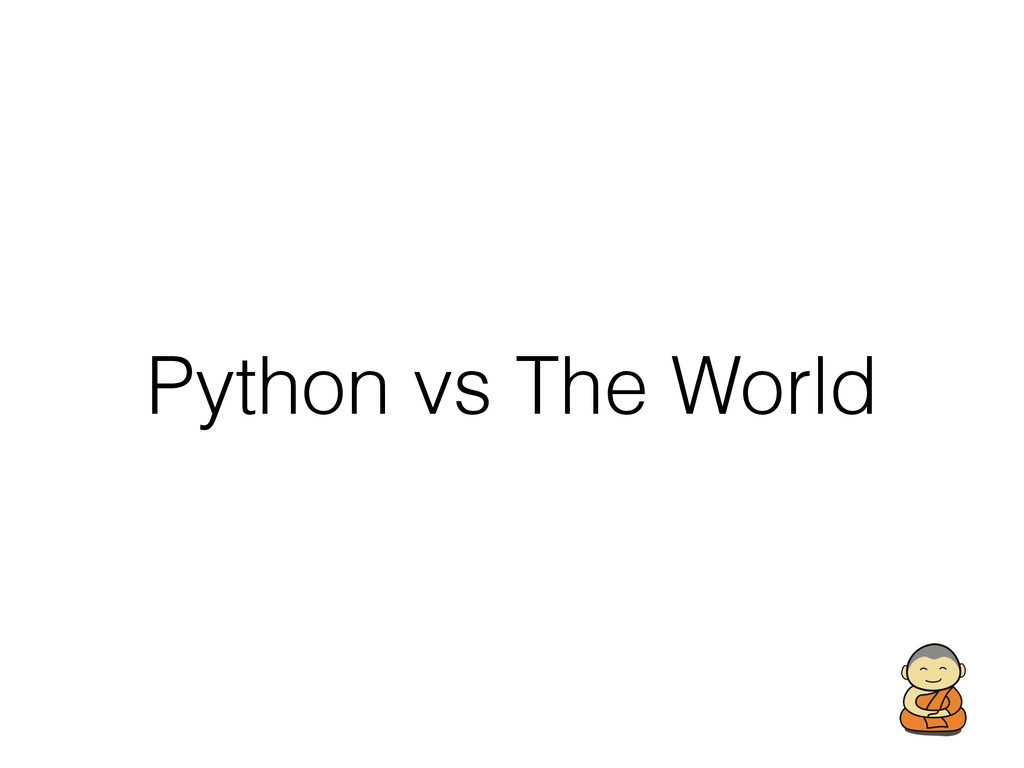 Python vs The World