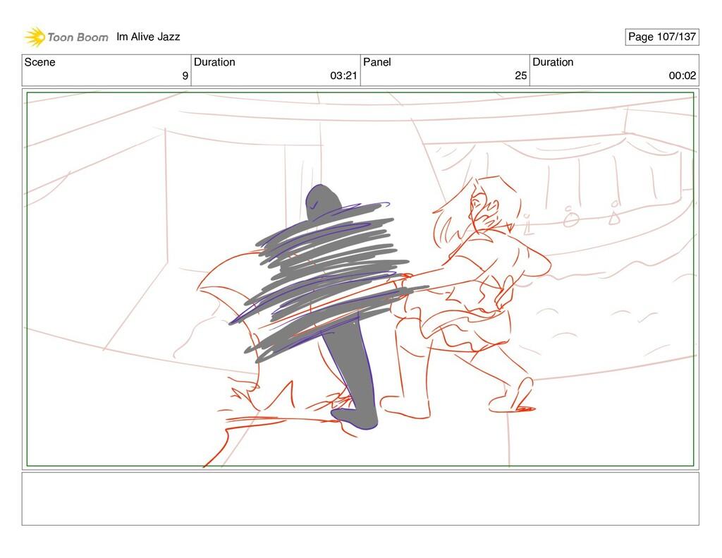 Scene 9 Duration 03:21 Panel 25 Duration 00:02 ...