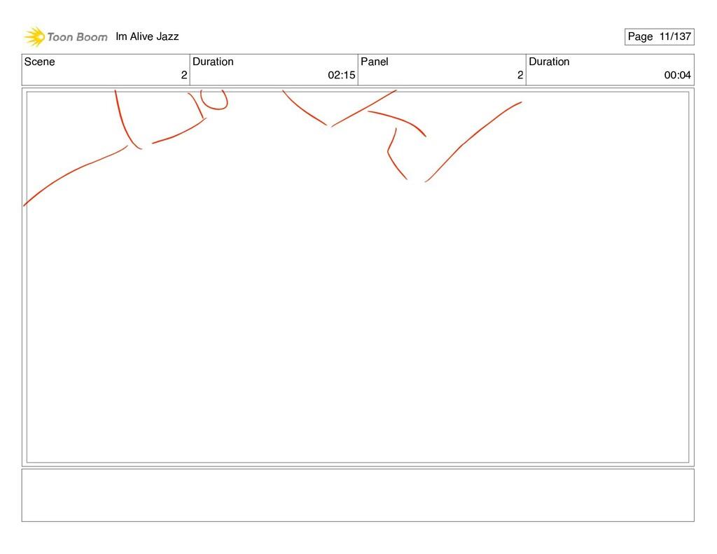 Scene 2 Duration 02:15 Panel 2 Duration 00:04 I...