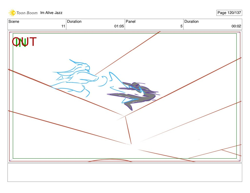 Scene 11 Duration 01:05 Panel 5 Duration 00:02 ...