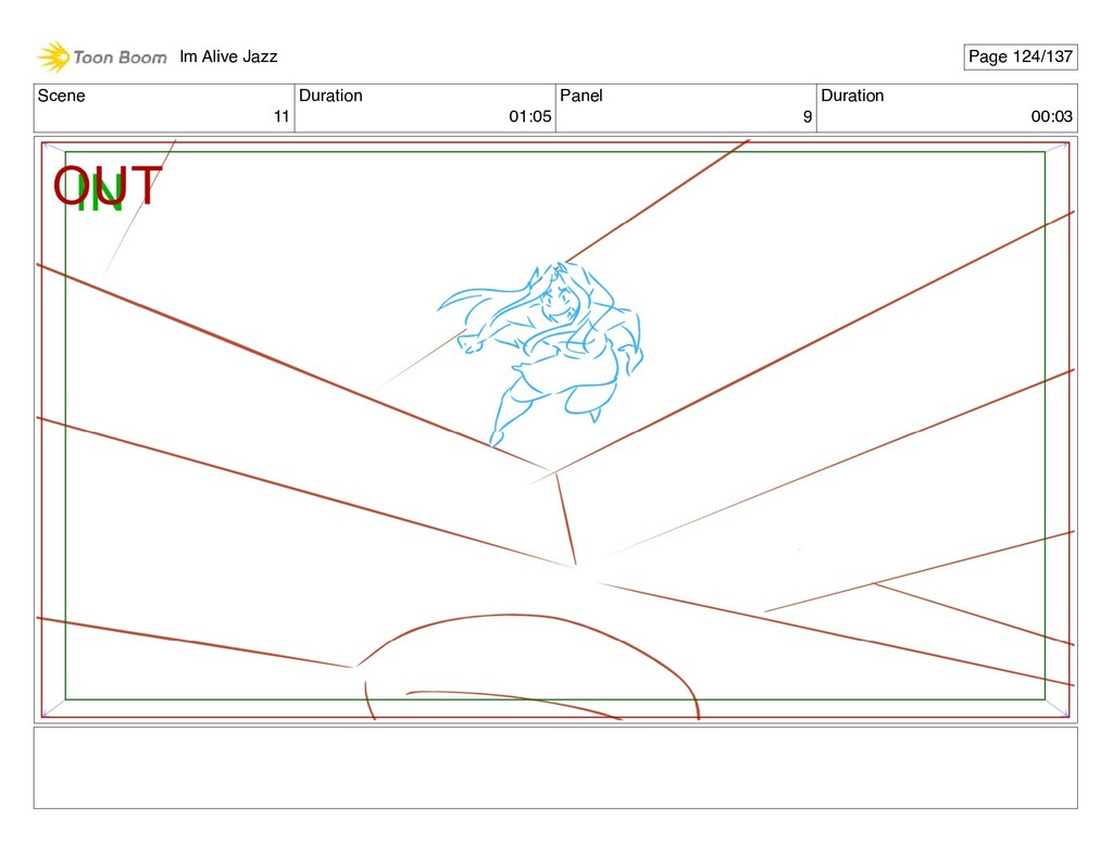 Scene 11 Duration 01:05 Panel 9 Duration 00:03 ...