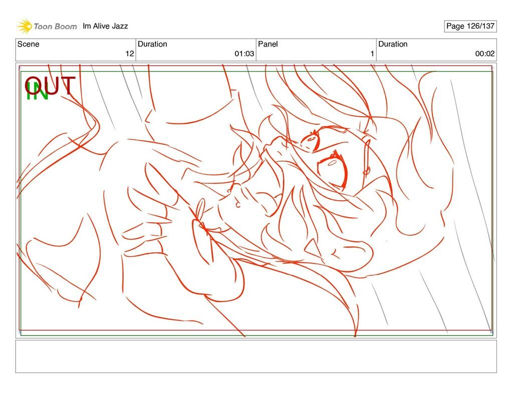 Scene 12 Duration 01:03 Panel 1 Duration 00:02 ...