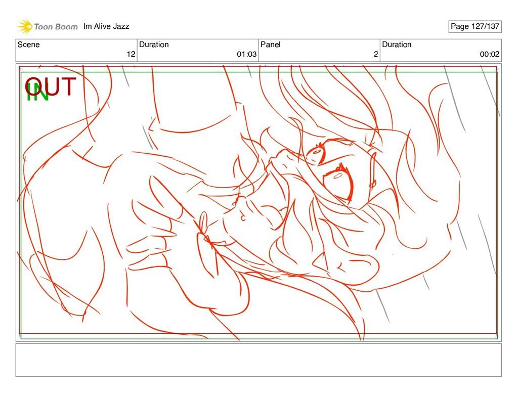 Scene 12 Duration 01:03 Panel 2 Duration 00:02 ...