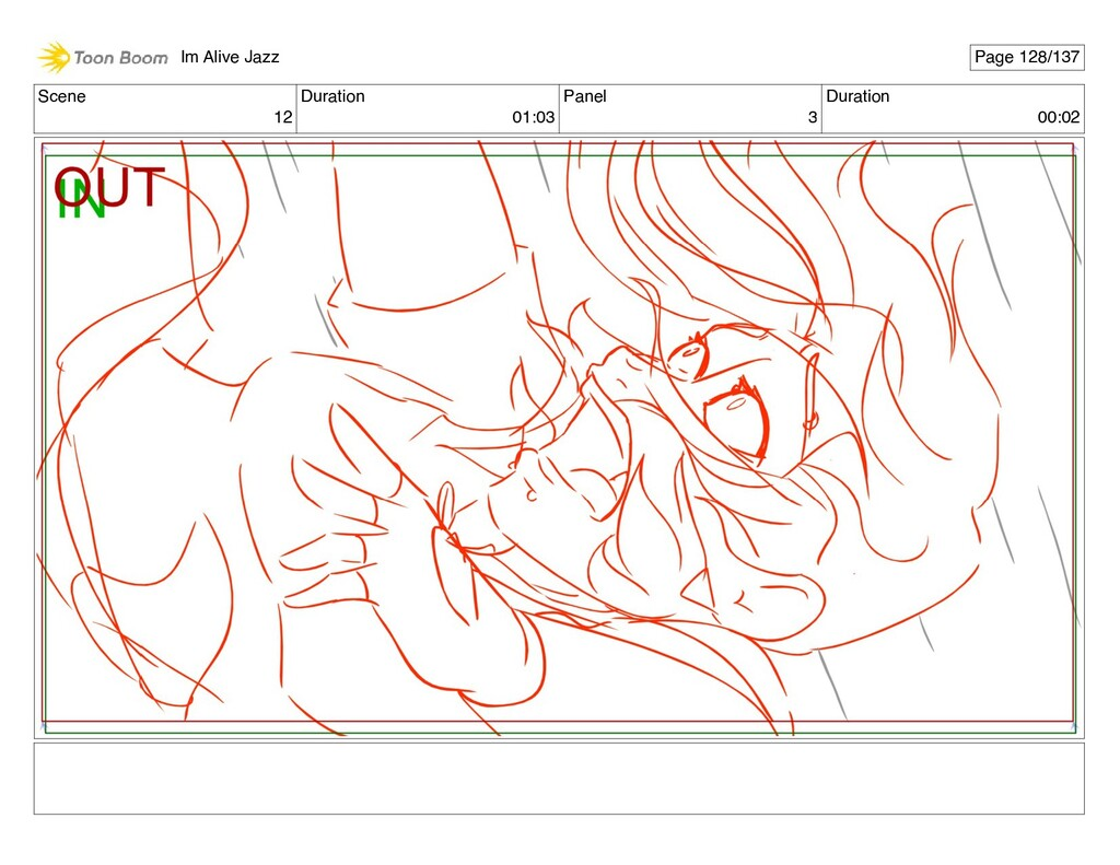 Scene 12 Duration 01:03 Panel 3 Duration 00:02 ...