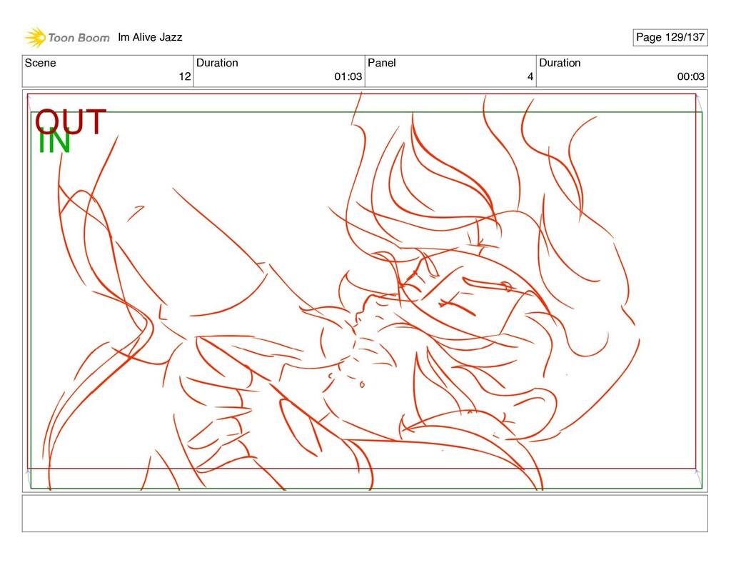 Scene 12 Duration 01:03 Panel 4 Duration 00:03 ...