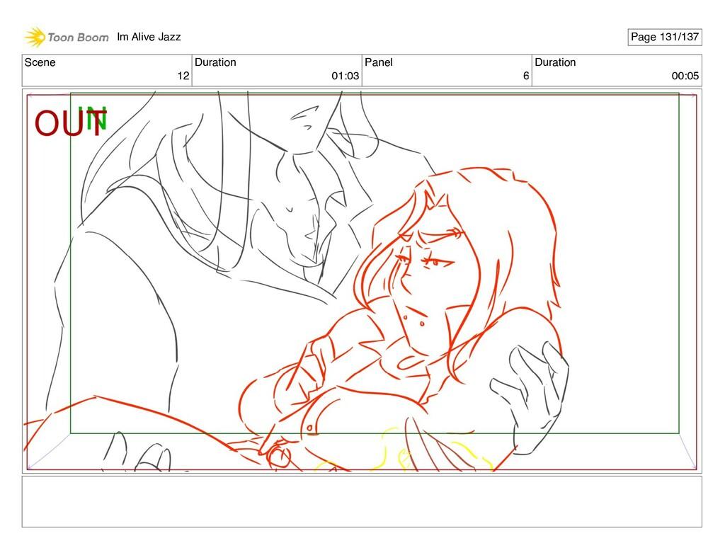 Scene 12 Duration 01:03 Panel 6 Duration 00:05 ...