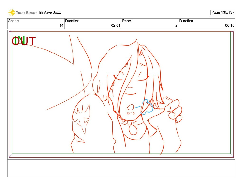 Scene 14 Duration 02:01 Panel 2 Duration 00:15 ...