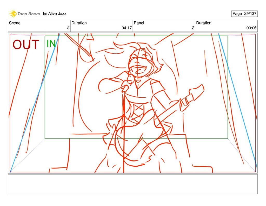 Scene 3 Duration 04:17 Panel 2 Duration 00:06 I...