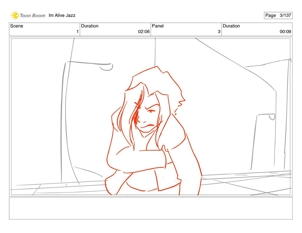 Scene 1 Duration 02:06 Panel 3 Duration 00:09 I...