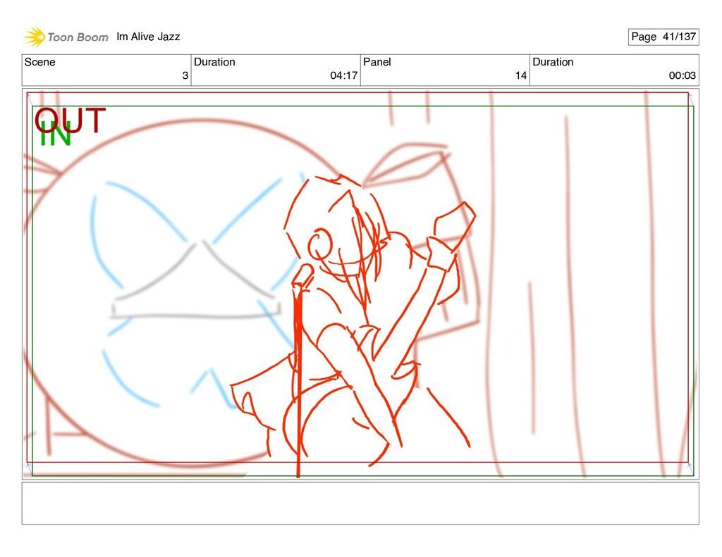 Scene 3 Duration 04:17 Panel 14 Duration 00:03 ...