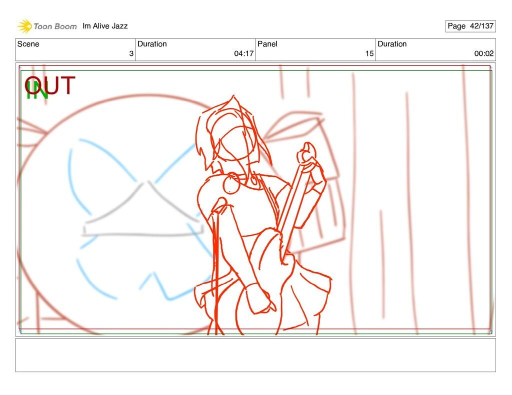 Scene 3 Duration 04:17 Panel 15 Duration 00:02 ...