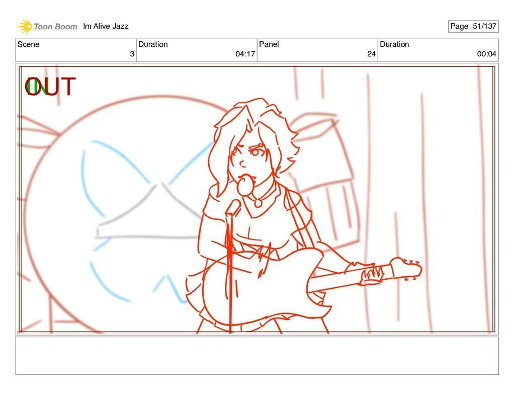 Scene 3 Duration 04:17 Panel 24 Duration 00:04 ...
