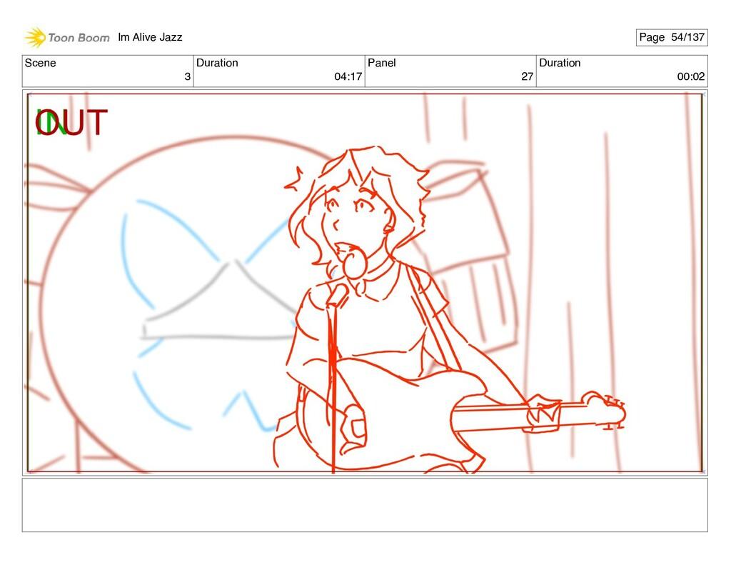 Scene 3 Duration 04:17 Panel 27 Duration 00:02 ...