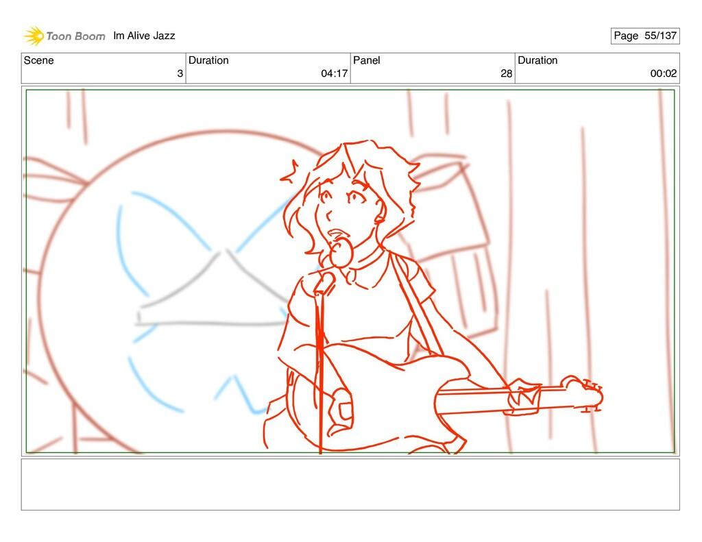 Scene 3 Duration 04:17 Panel 28 Duration 00:02 ...